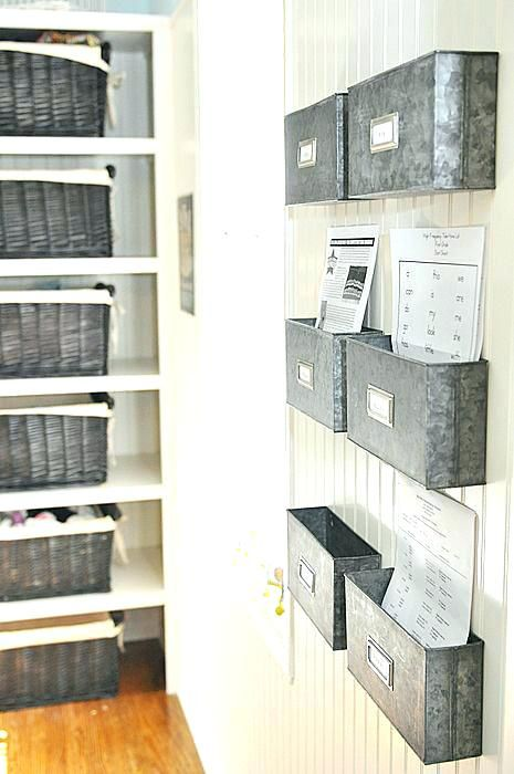 Organization Storage Bins Full Image For Home Office Wall
