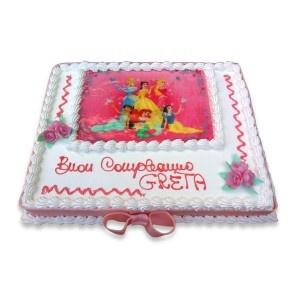 TORTA PRINCIPESSA. Clicca e acquista la bontà! torte personalizzate per tutti i gusti!