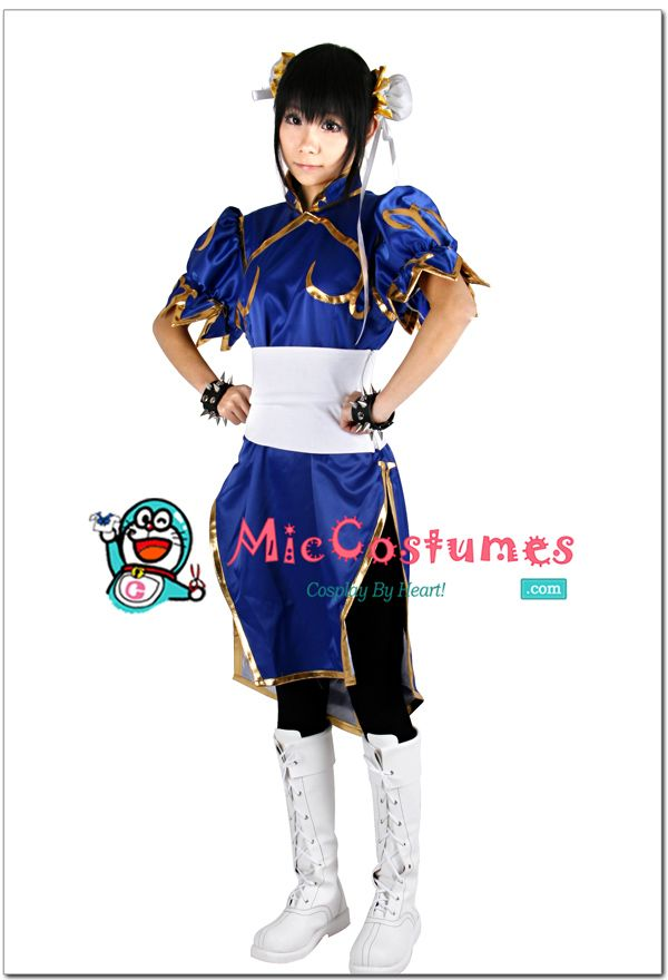 Street Fighter Chun Li Cosplay Costume For Sale