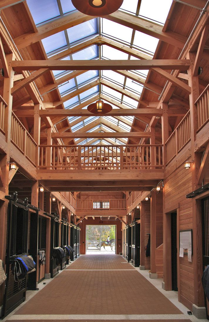 Beechwood Stables. Loving all the natural light! NEED this barn!