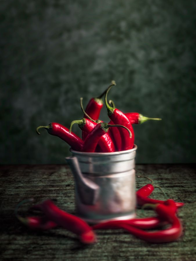 Chili Peppers via Alessandro Guerani