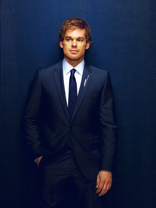 Dexter (Michael C. Hall)...Your neighborhood crime fighter