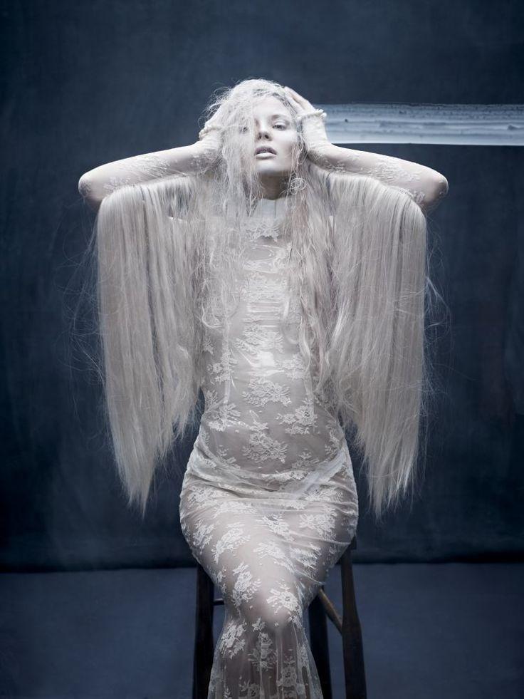 Magdalena Frackowiak by Aitken Jolly for Dansk A/W 2011 | Trendland: Fashion Blog & Trend Magazine