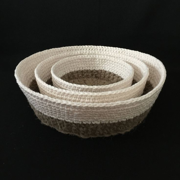 A personal favorite from my Etsy shop https://www.etsy.com/listing/524552434/cotton-and-jute-baskets-cotton-and-jute