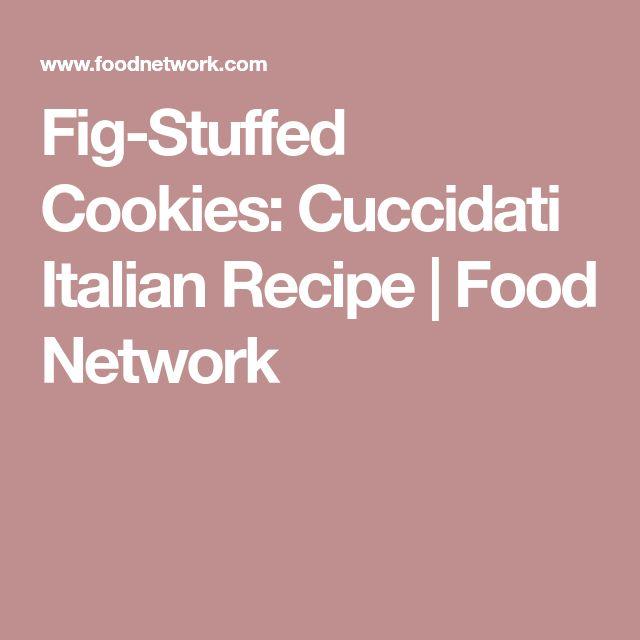 Fig-Stuffed Cookies: Cuccidati Italian Recipe   Food Network