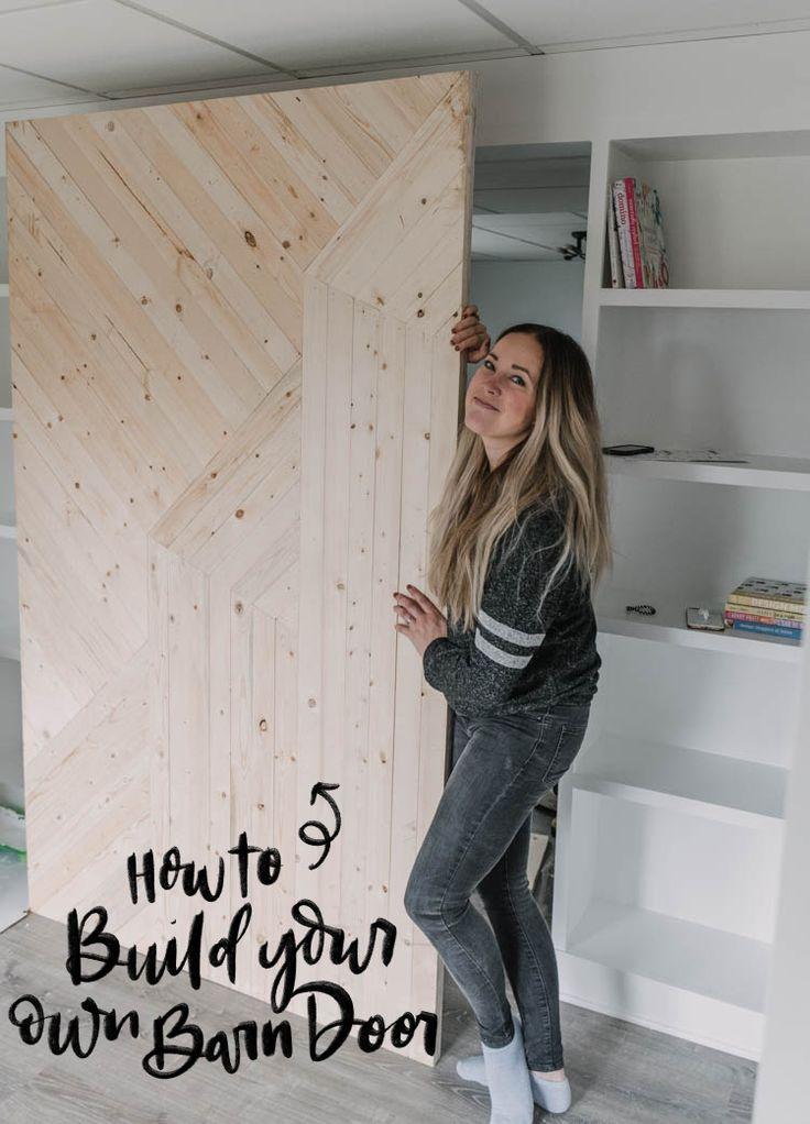 Build A Modern Barn Door Making Barn Doors Modern Barn Diy Barn Door