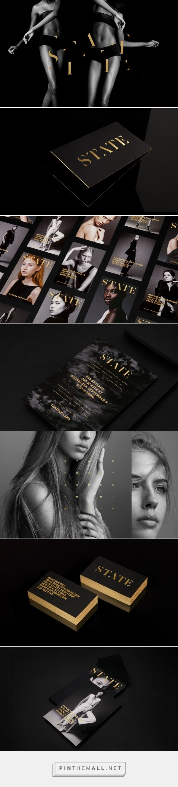 State Modeling Agency Branding by FAREWELL   Fivestar Branding Agency – Design and Branding Agency & Inspiration Gallery