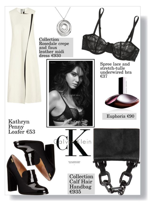 """Calvin Klein"" by sofirose ❤ liked on Polyvore featuring Calvin Klein, Calvin Klein Collection, Calvin Klein Underwear and CalvinKlein"