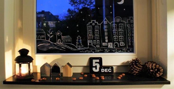 Sinterklaas ideeën | budget | knutselen | recepten | raamtekening | www.helderenklaar.nl | professional organizing | hulp bij opruimen |time management | voor werkende moeders