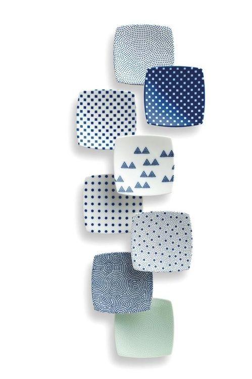 collectorandco:  square ceramics