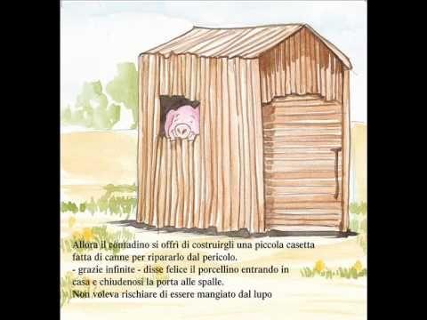 I 3 Porcellini - AUDIO FIABA ORIGINALE - YouTube