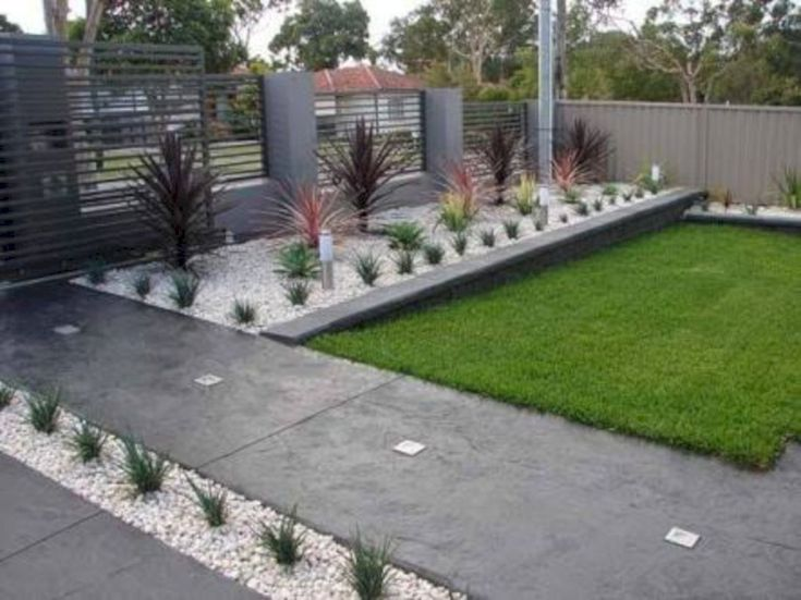 60 modern front yard landscape ideas - Modern Front Yard Garden Ideas
