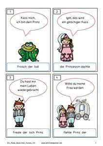 Direkte Rede üben - mit Märchen
