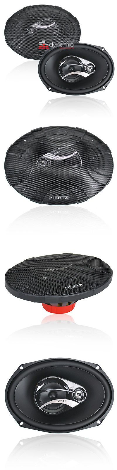 Car Speakers and Speaker Systems: Hertz Dcx-690.3 Dieci Series 6X9 3-Way Car Audio Coaxial Speakers 180W New -> BUY IT NOW ONLY: $119.95 on eBay!