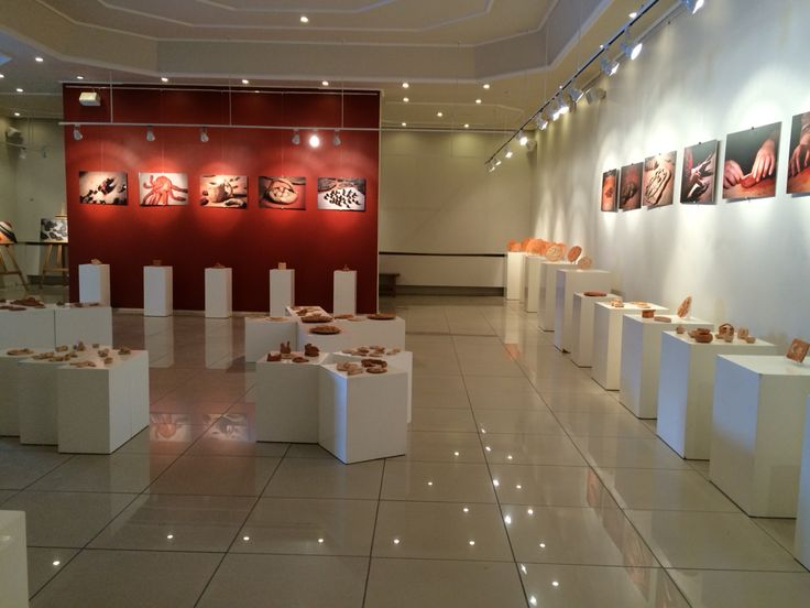 Clay is one of the best ways to release energy and for children/adults with autism, it is a great way to communicate. This picture is from an exhibition held in june 2014 in which all the objects were made by the children/teenagers with autism. #autism #turkey #exhibition #awareness