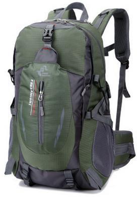 1995876d1c97 Outdoor Nature 40L Outdoor Sports Climbing Trekking Hiking Travel Bag Large  Capacity Waterproof Nylon Rucksack Walking Stick Tourist Bag XA34WD