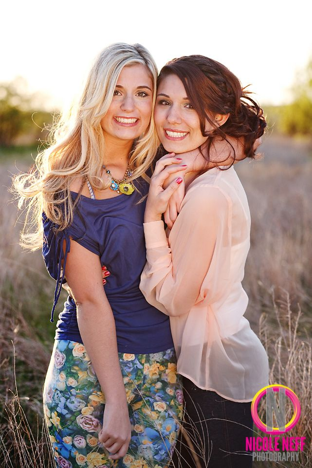 Rachael and Adrienne, Senior Model Session, Class of 2013  www.nicoleneff.com