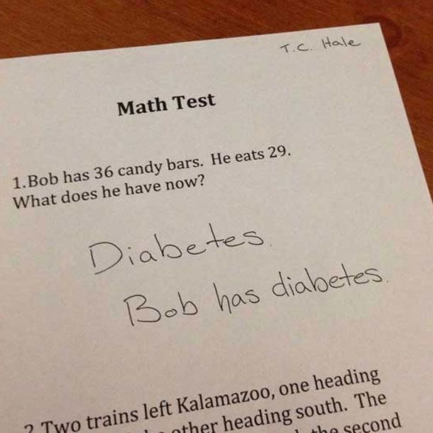 Best Funny Test Answers Images On Pinterest Funny Things - 34 hilarious test answers
