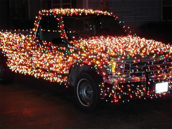 I would so drive this at christmas: Christmas Time, Christmas Doors Decoration, Holidays Decoration, Christmas Decoration, Rednecks Christmas, Christmas Trucks, Christmas Idea, Christmas Lighting, Funnies Christmas