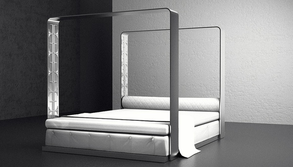 Aero Bed & Lounger by Ventury Paris   (everything by this firm is beautiful)