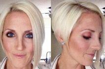Heb je een langwerpig gezicht? Deze 11 korte kapsels zullen jou fantastisch staan!