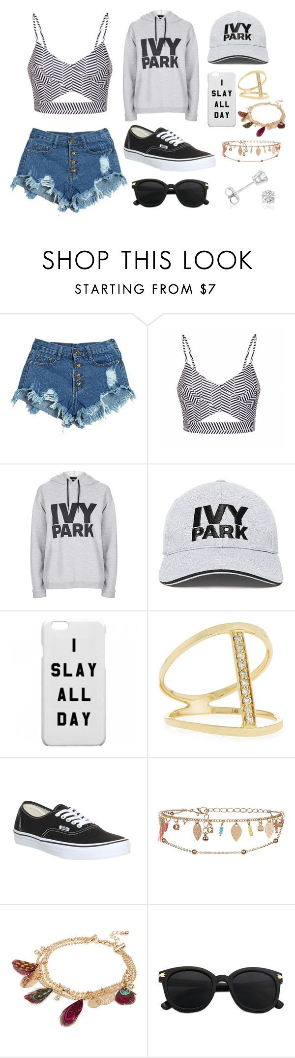 Outfit 21 by sarahcb2002 on Polyvore featuring Topshop, Ally Fashion, WithChic, Vans, Sydney Evan, Amanda Rose Collection, River Island, New Look and Ivy Park