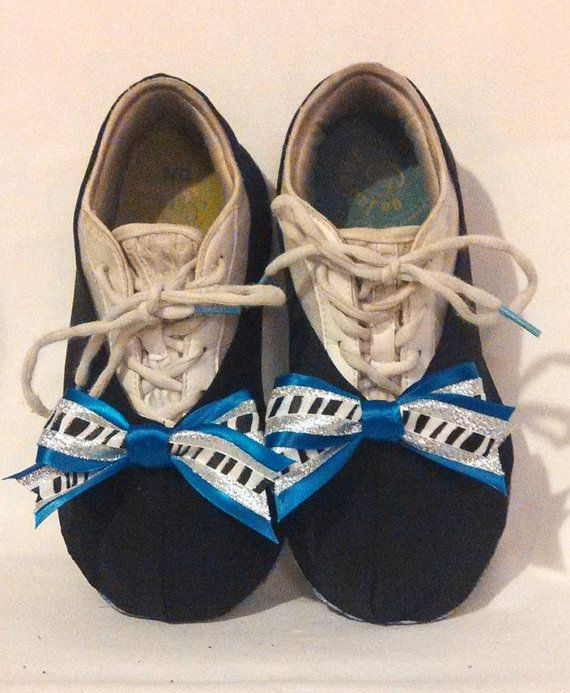 Slip ons for covering cheer shoes by AnniquesNook on Etsy, $17.00