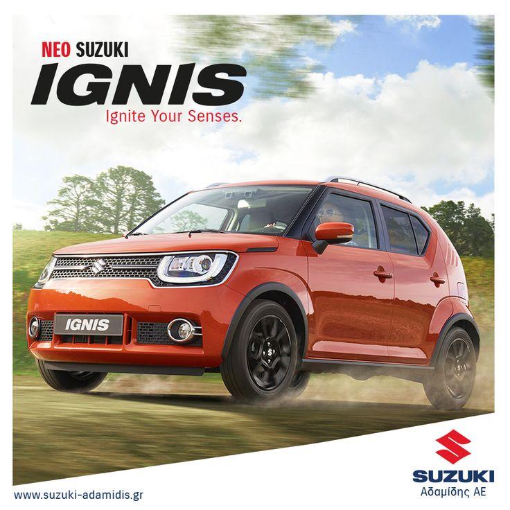 Νέο SUZUKI IGNIS. The Ultra Compact SUV!  http://suzuki-adamidis.gr/autokinita/ignis