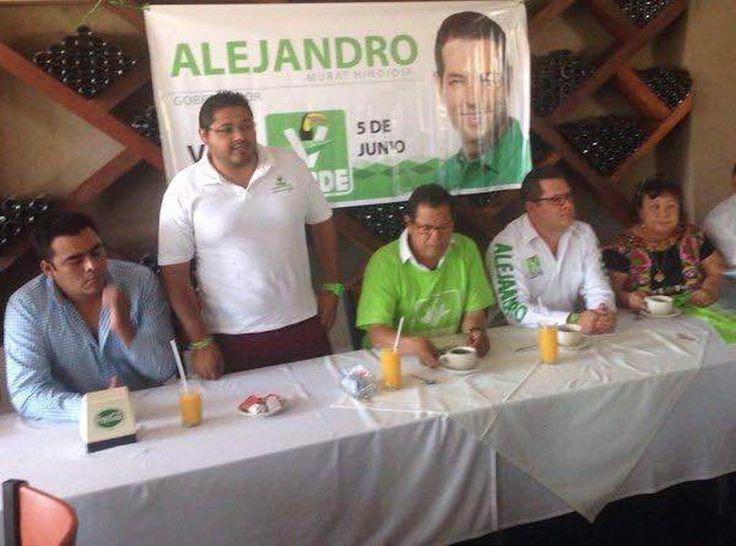 Tomas Aquino Linares  será digno representante del Verde en Juchitán de Zaragoza