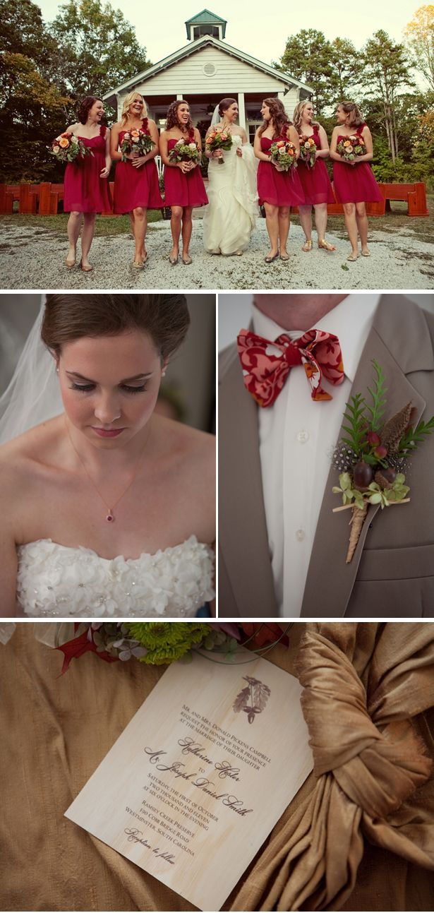 132 best wedding plans images on pinterest marriage dream rustic outdoor fall wedding in south carolina ombrellifo Choice Image