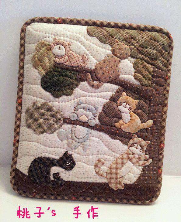 桃子_新浪博客-- This would make a cute baby quilt! I would also change the colors, etc.