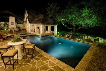 Sam Allen Custom Home Design - traditional - patio - austin - Sam Allen Custom Home Design