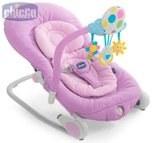 Детское кресло-качалка Chicco Balloon Lilla 79349.67