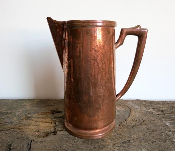 Deco Copper PitcherAntiques Pitcher, Fab Com, Antiques Deco, Copper Antiques, Deco Copper, Products, Design, Pitcher Pin, Copper Pitcher