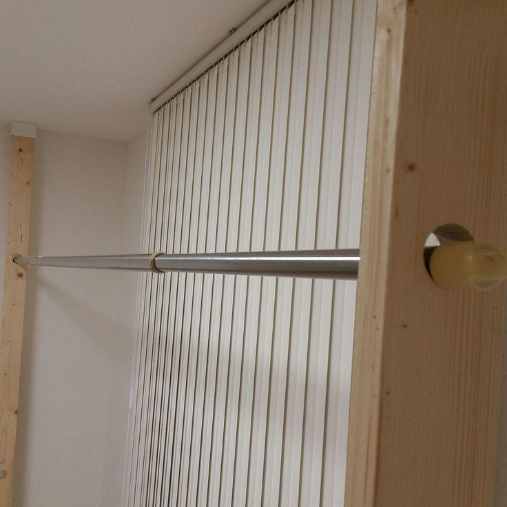 物干し/ディアウォール/2×4材/DIY/部屋全体のインテリア実例 - 2016-04-23 21:48:54 | RoomClip(ルームクリップ)