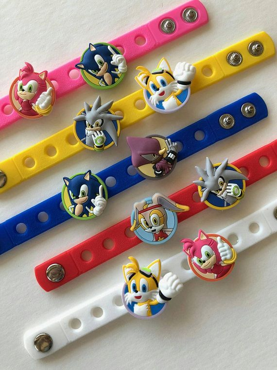 Sonic The Hedgehog Party Favors Sonic Hedgehog Party Sonic Sonic Birthday Parties Hedgehog Birthday Sonic Party