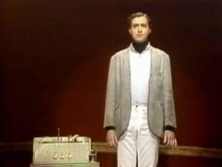 "Andy Kaufman's ""Mighty Mouse"" routine. Again, the man mastered the art of being completely serious about the completely absurd."