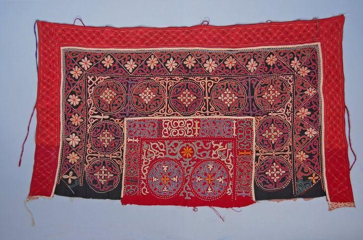 nomads tent-hangings, 'tush ki'iz', from Kazakstan, British Museum.