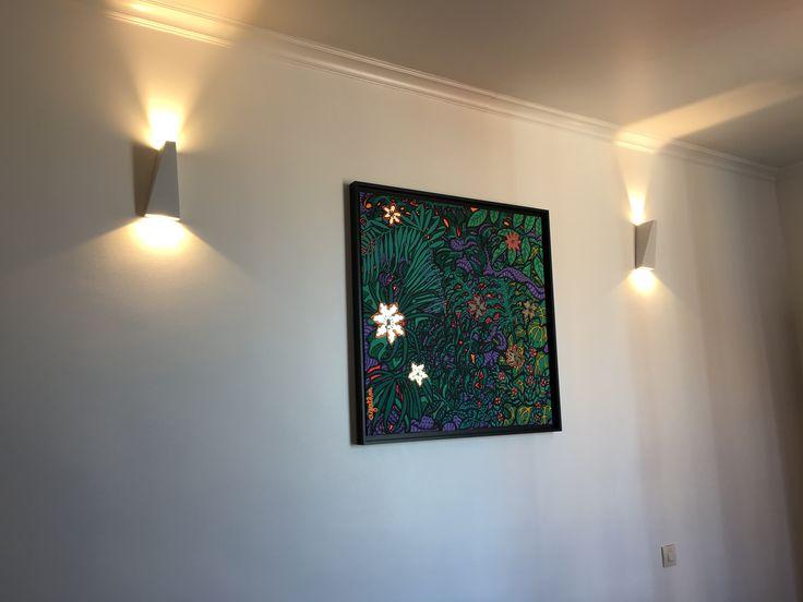 Applique double faisceau LED IP54 – Helsinki