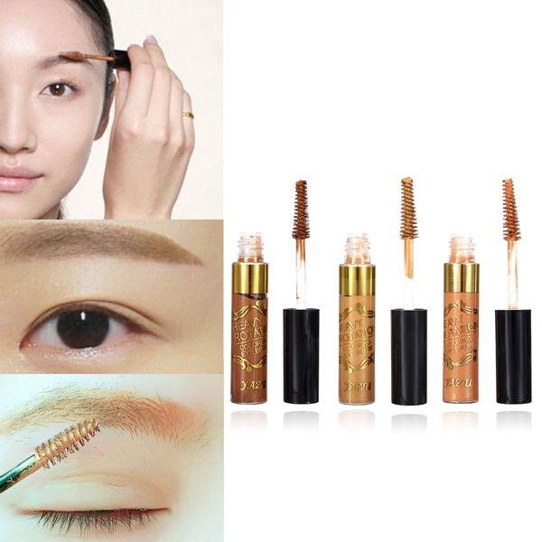 3 de color resistente al agua frente crema ceja profesional herramienta de maquillaje del rimel