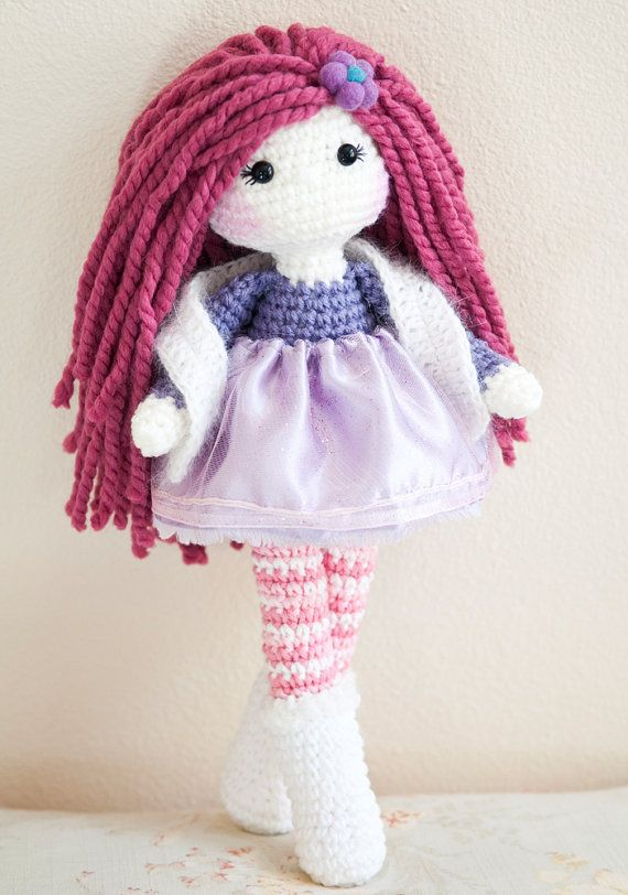 How To Make Crochet Amigurumi Patterns : 146 best images about Lina Marie Dolls on Pinterest ...