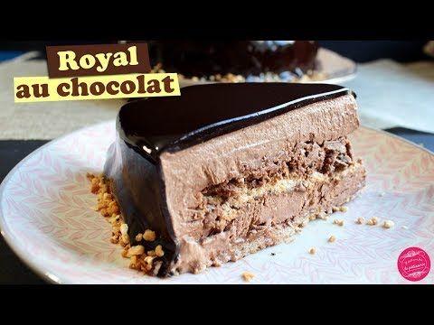 Le GATEAU ROYAL AU CHOCOLAT ou TRIANON ~ Recette DIVINE ! - YouTube