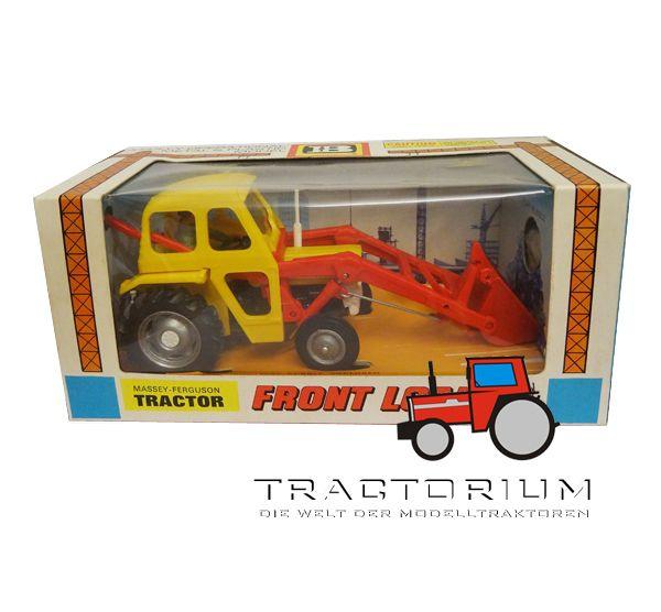 Box Britains 9572 Massey Ferguson 135 mit Frontlader Traktor 1/32