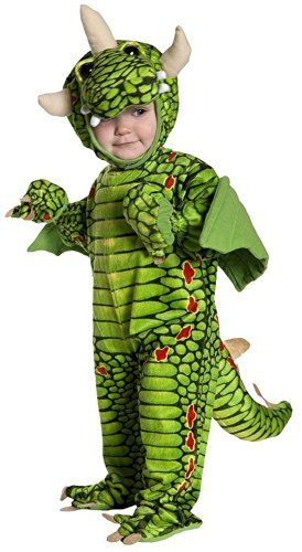Dragon Costume - Green Dragon Costumes (18-24 months with Bracelet for Mom) *** More info could be found at the image url.
