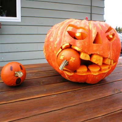 Photo: Brian H. / youroldhouse.thisoldhouse.com | thisoldhouse.com | from 2010 Pumpkin-Carving Contest Winners