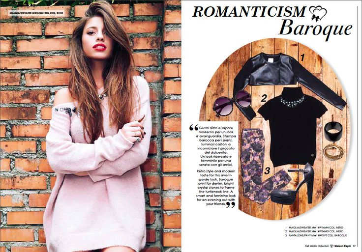 Lovely look #maisonespin #fw14 #collection #lovely #clothing #madewithlove #chiaranasti #romanticstyle