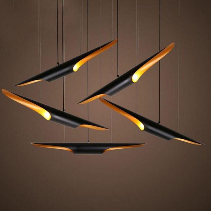 Moderne Innenbeleuchtung 60 Cm Anhnger Lampe Aluminium Kronleuchter Restaurant Wohnzimmer Bar Speichert Leuchte In Aus Pendelleuchten