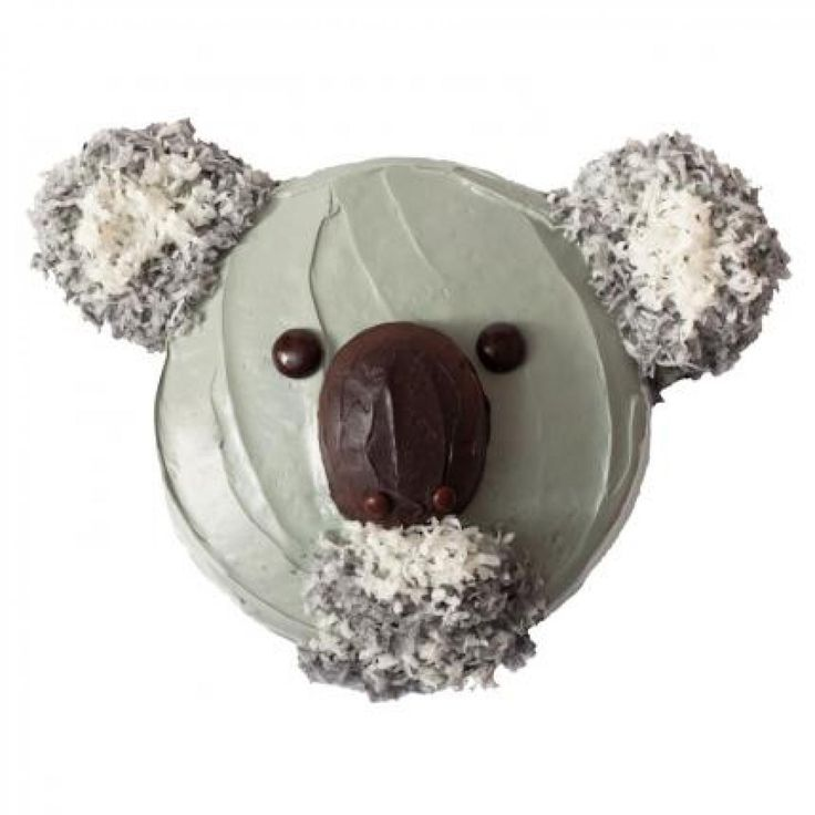 How to make a koala bear birthday cake with Ring Dings and doughnuts - parenting.com