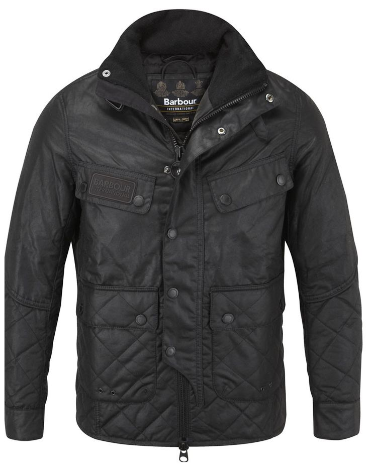 Barbour International Men's Trail Quilt Jacket – Black MWX0681BK11 - Barbour Sale | Country Attire