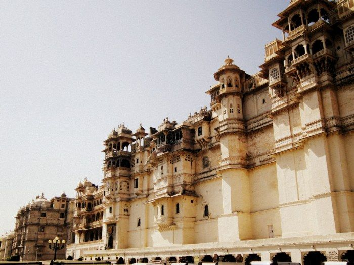 City Palace, Udaipur, Rajasthan, Indian architecture